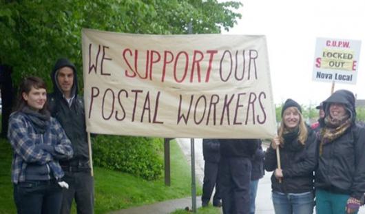 postal support